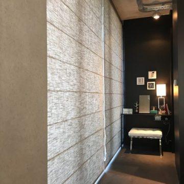Vouwgordijnen kamer - Links en Co Amsterdam