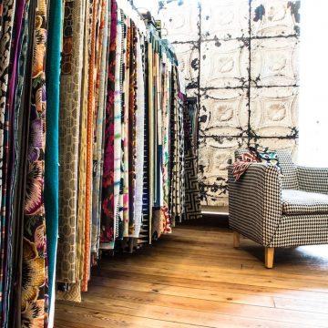 Links & Co Amsterdam stoffering meubels gordijnen stoffen stoel
