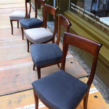 Meubelstoffeerderij Amsterdam Links en co stoelen